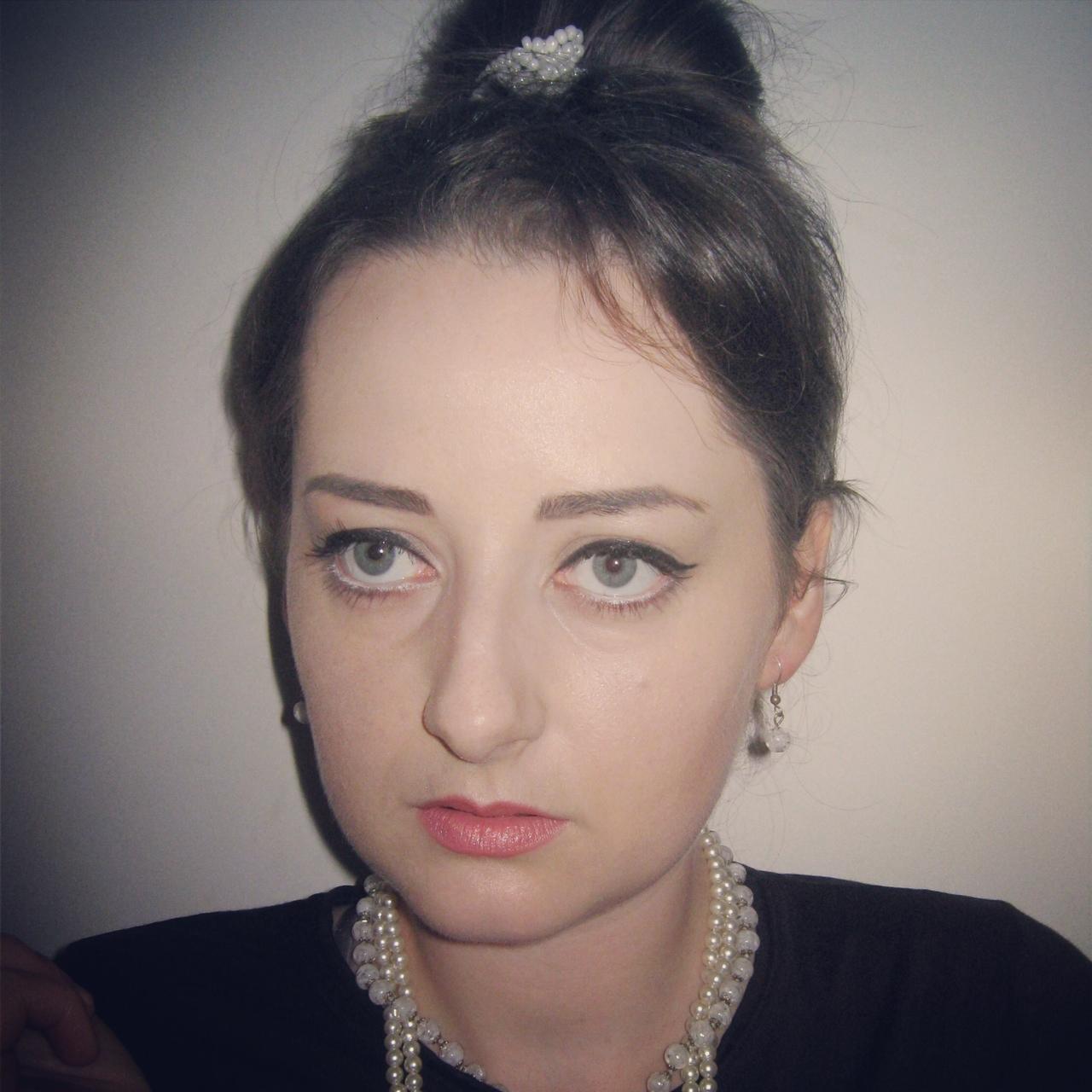 Audrey Hepburn Makeup Makeup Aradmakeup Timisoara Monica - Audrey-hepburn-makeup